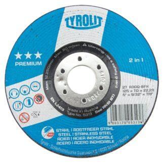"Tyrolit 5313 5"" Grinding Wheel"