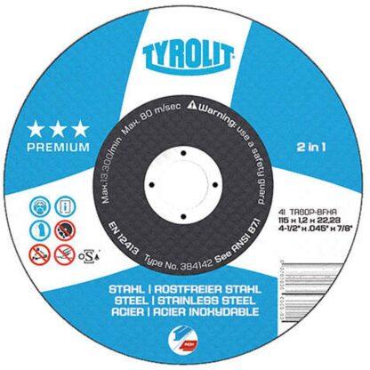 """Tyrolit 920351 6"""" Cutoff Wheel"""
