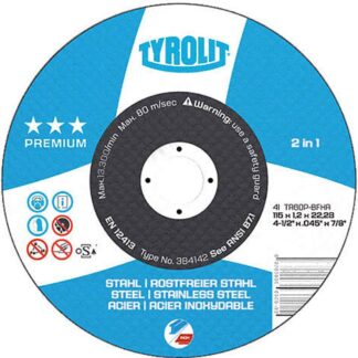 "Tyrolit 920352 7"" Cutoff Wheel"