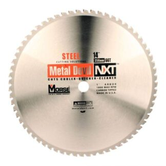"MK Morse 101318 14"" 66T Metal Devil NXT Circular Saw Blade (Copy)"