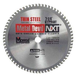 "MK Morse 101790 7-1/4"" 68T Metal Devil NXT Circular Saw Blade"