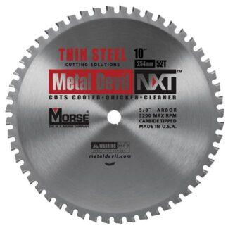 "MK Morse 101820 10"" 52T Metal Devil NXT Circular Saw Blade"
