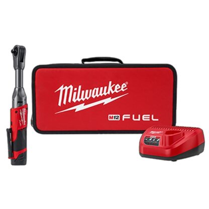 "Milwaukee 2560-21 M12 FUEL 3/8"" Extended Reach Ratchet Kit"