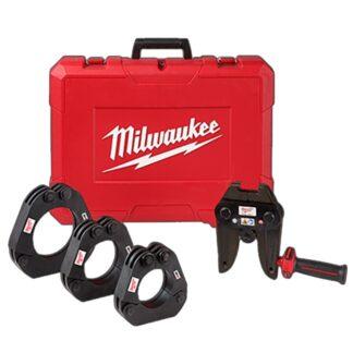 "Milwaukee 49-16-2698 2-1/2""-4"" IPS XL Ring Kit for M18 FORCE LOGIC Long Throw Press Tool"