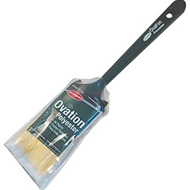 "Dynamic HB223705 2"" Ovation Polyester Angle Sash Paint Brush"