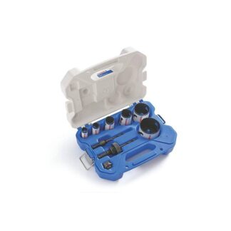 Lenox 30860C600P 9-Piece Plumber Hole Saw Kit