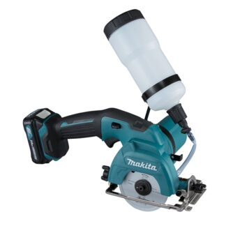 "Makita CC301DSYE 12V Max CXT 3-3/8"" Glass/Tile Circular Saw Kit"