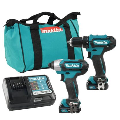Makita CLX224 12V Max 2-Tool Combo Kit