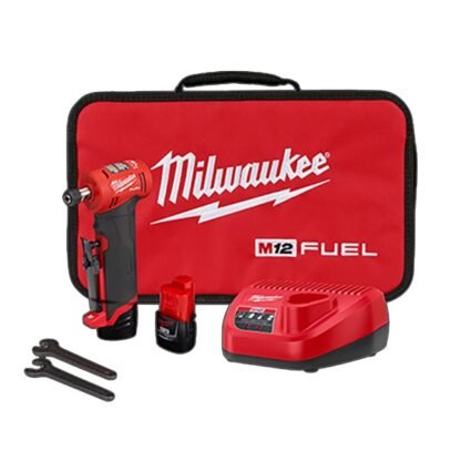 "Milwaukee 2485-22 M12 FUEL 1/4"" Right Angle Die Grinder Kit"