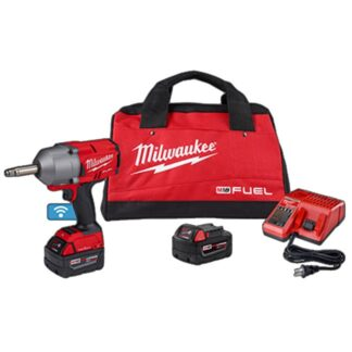 """Milwaukee 2769-22 M18 FUEL 1/2"""" Ext Anvil Controlled Torque Impact Wrench with ONE-KEY Kit"""