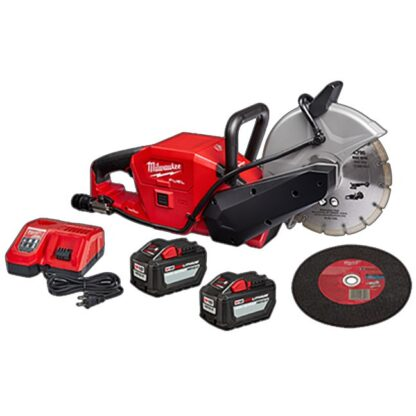 "Milwaukee 2786-22HD M18 FUEL 9"" Cut-Off Saw with ONE-KEY Kit"