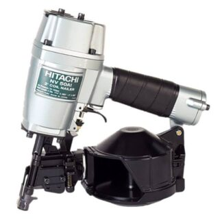 "itachi NV50A1 Round Head 1-1/4"" to 2"" Coil Framing Nailer"