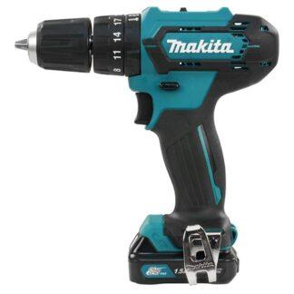 "Makita HP333DWYE 12V MAX CXT 3/8"" Hammer Driver Drill Kit"