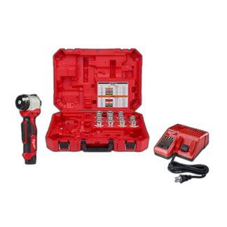 Milwaukee 2435AL-21 M12 Cable Stripper Kit for Al THHN / XHHW