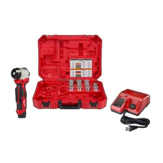 Milwaukee 2435CU-21 M12 Cable Stripper Kit for Cu THHN / XHHW