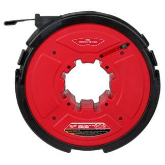 "Milwaukee 48-44-5178 M18 FUEL Angler 240ft x 1/8"" Steel Pulling Fish Tape Drum"