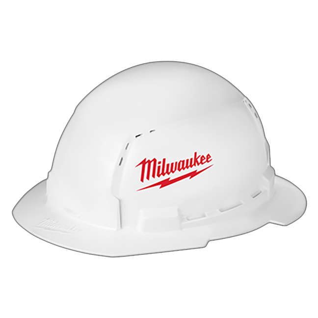 Milwaukee 48-73-1010 Full Brim Hard Hat with BOLT Accessories Type 1 Class C