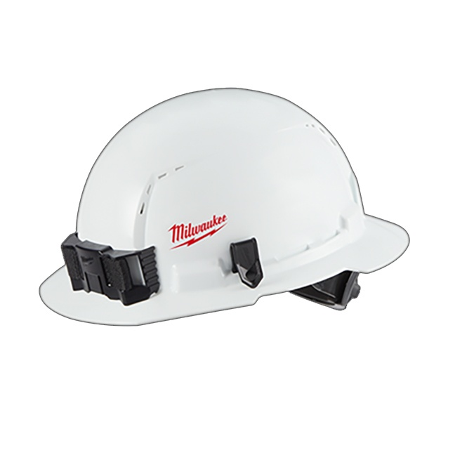 Milwaukee 48-73-1011 Full Brim Hard Hat with BOLT Accessories Type 1 Class C