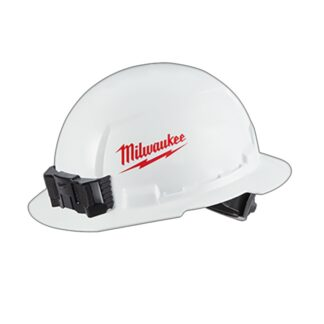 Milwaukee 48-73-1030 Full Brim Hard Hat with BOLT Accessories Type 1 Class E