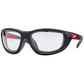 Milwaukee 48-73-2040 Clear Performance Safety Glasses with Gaskets