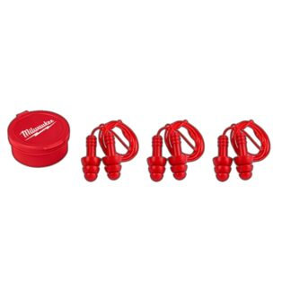 Milwaukee 48-73-3151 3PK Reusable Corded Earplugs