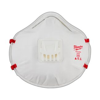 Milwaukee 48-73-4002 3pk N95 Valved Respirator with Gasket