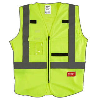 Milwaukee High Visibility Safety Vest - Yellow