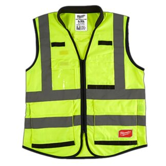 Milwaukee High Visibility Performance Safety Vest Yellow