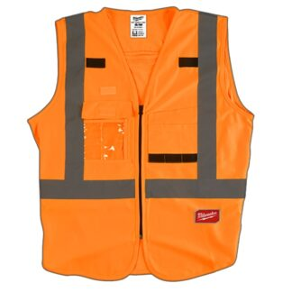 Milwaukee High Visibility Safety Vest Orange