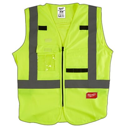 Milwaukee High Visibility Safety Vest Yellow