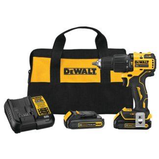 "DeWalt DCD709C2 20V MAX Brushless Compact 1/2"" Hammer Drill Driver Kit"