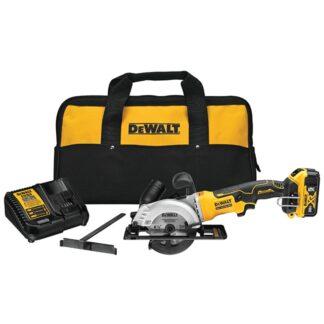 "DeWalt DCS571P1 20V MAX Brushless 4-1/2"" Circular Saw Kit"