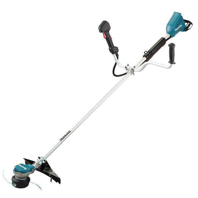 "Makita DUR368AZ 15"" 18Vx2 LXT Line Trimmer Offset Bike Handle"
