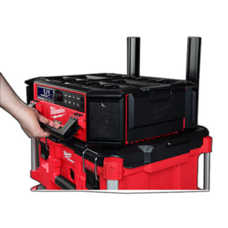 Milwaukee 2950-20 M18 PACKOUT Radio + Charger - Tool Only