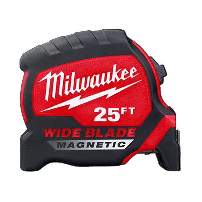 Milwaukee 48-22-0225M 25ft Wide Blade Magnetic Tape Measure