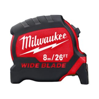 Milwaukee 48-22-0226 8m/26ft Wide Blade Tape Measure
