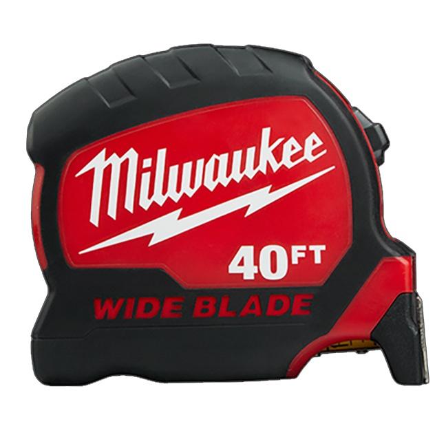 Milwaukee 48-22-0240 40ft Wide Blade Tape Measure