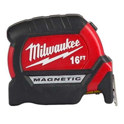 Milwaukee 48-22-0316 16ft Compact Wide Blade Magnetic Tape Measure