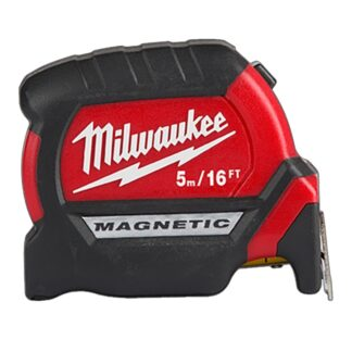 Milwaukee 48-22-0317 5m/16ft Compact Wide Blade Magnetic Tape Measure