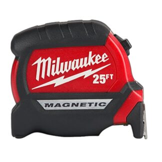 Milwaukee 48-22-0325 25ft Compact Wide Blade Magnetic Tape Measure