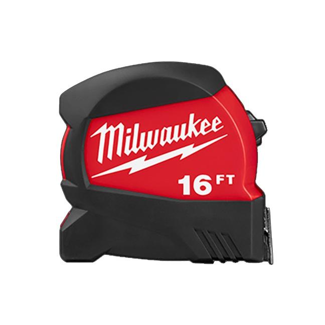 Milwaukee 48-22-0416 16ft Compact Wide Blade Tape Measure
