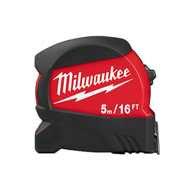 Milwaukee 48-22-0417 5m/16ft Compact Wide Blade Tape Measure