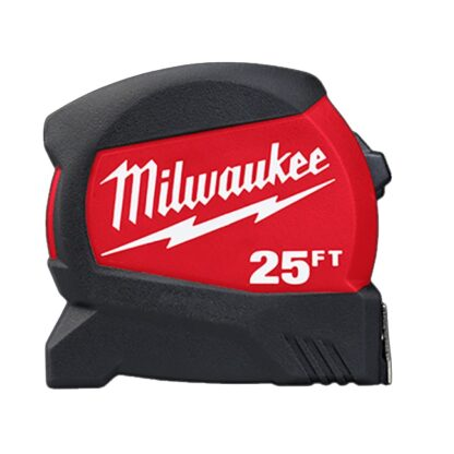 Milwaukee 48-22-0425 25ft Compact Wide Blade Tape Measure