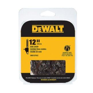 """DeWalt DWO1DT612 12"""" Chainsaw Replacement Chain"""