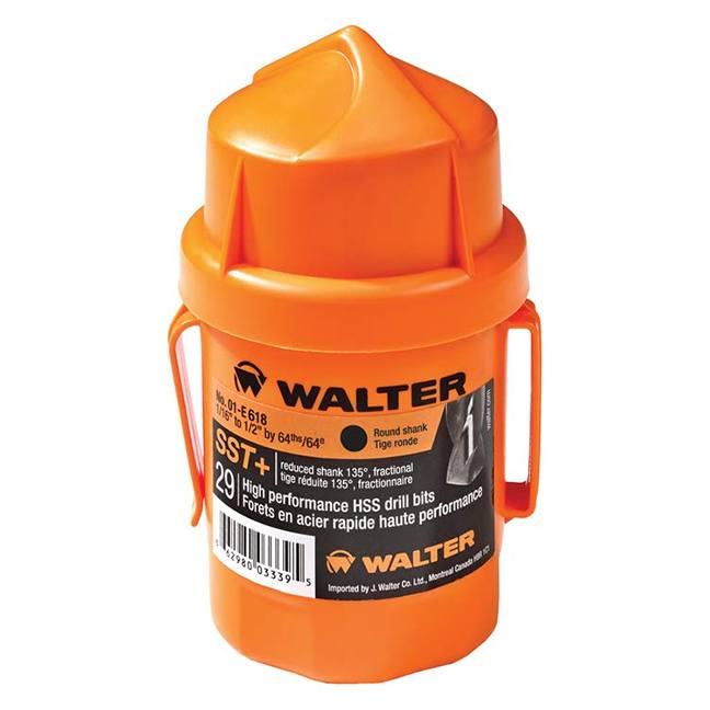 Walter 01E618 29PC Jobber SST+ Drill Bit Set