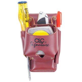 Kuny's 21464 Heavy Duty Leather Tape & Tool Holder 4 Pocket