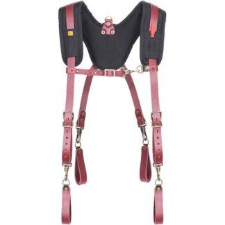 Kuny's 21522 Padded Yoke Leather Suspenders