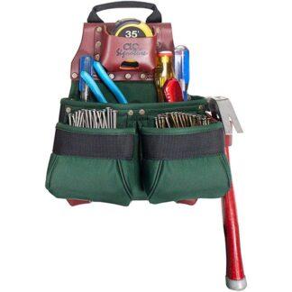 Kuny's 51838 Nylon Nail & Tool Bag 10 Pocket