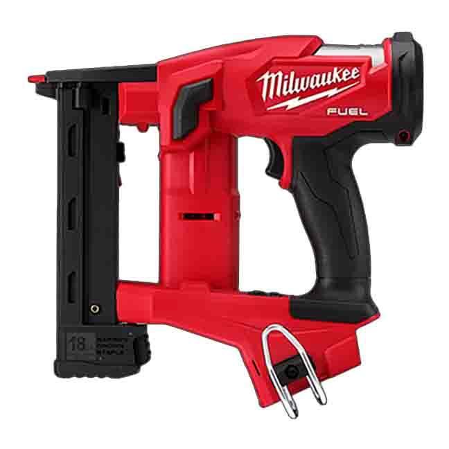 "Milwaukee 2749-20 M18 FUEL 18GA 1/4"" Narrow Crown Stapler"