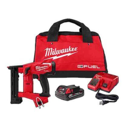 "Milwaukee 2749-21CT M18 FUEL 18GA 1/4"" Narrow Crown Stapler Kit"